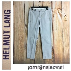 💸Helmut Lang gray ankle button trouser size 4